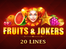 Fruits and Jokers: 20 lines
